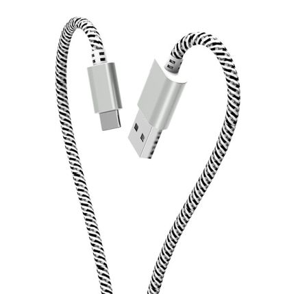 Usb Cable WHIP CABLE 2.4A 1 rk_cbd36_wt